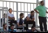 دیدار تیم های فوتبال گسترش فولاد و پیکان