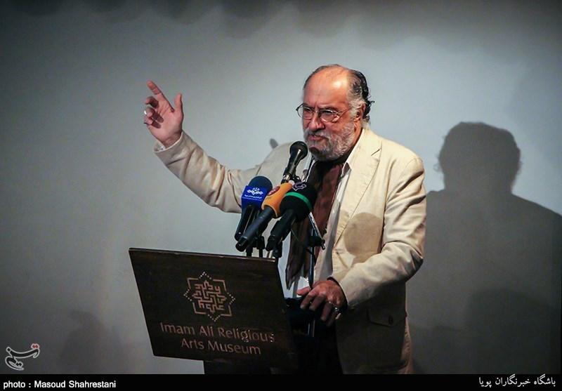 """داریوش ارجمند نخستین روایتگر """"علمدار"""" شد"""