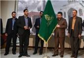 سکه ویژه و پرچم حرم حضرت شاهچراغ(ع) به صدا وسیمای فارس اهدا شد