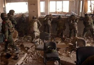 مواجهات الجیش السوری بمنطقة بنی زید فی حلب