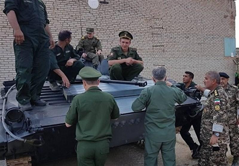 تکاوران ارتش و سپاه در مسابقات نظامی روسیه