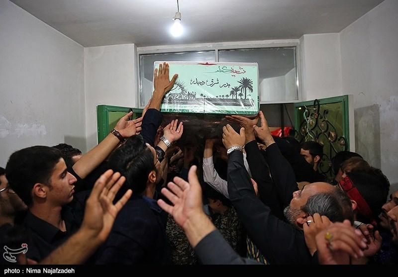 وداع با پیکر سه شهید گمنام دفاع مقدس - مشهد