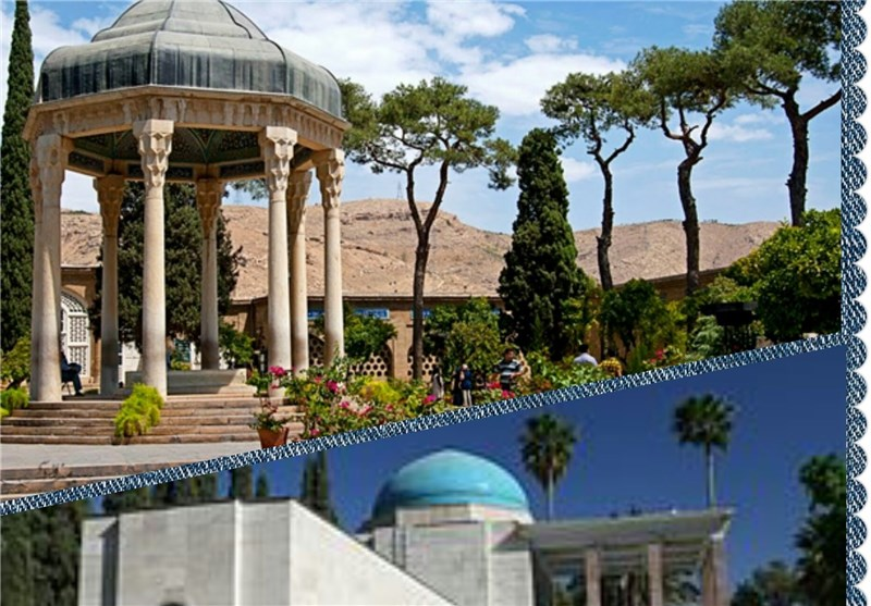 نگاهی دوباره به آثار «دو سرو سایهگستر شیراز»
