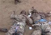 یمن|کشته و زخمی شدن 376 متجاوز و مزدور عربستان طی 48 ساعت