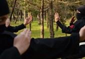 زنان پلیس هم آموزش پارکور میبینند