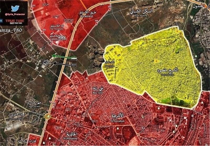 أهداف الجیش السوری بعد تحریر حی بنی زید فی حلب