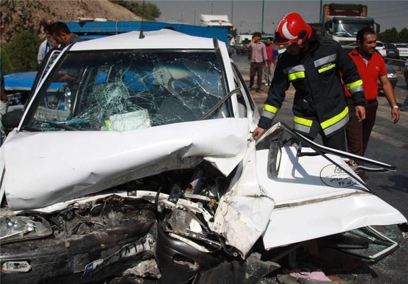 واژگونی سواری تیبا 6 سرنشین این حادثه را مصدوم کرد/ یکی از مصدومان هوشیاری پایینی دارد
