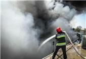 آتش سوزی صائب اصفهان