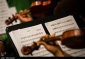 تمرین ارکستر ملل به خوانندگی سالار عقیلی