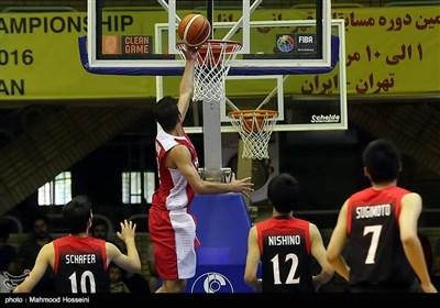 قهرمانی تیم ملی بسکتبال در مسابقات جوانان آسیا