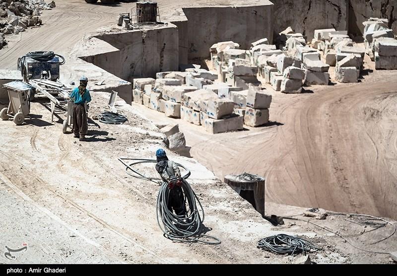«معدن، گنج پنهان»|عضو انجمن ملی سنگ ایران: دولت کمکی به صادرات سنگ نمیکند
