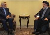 السید نصرالله یبحث مع بروجردی التطورات الاقلیمیة