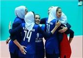 والیبال جام کنفدراسیونهای آسیا| پیروزی بانوان ایران برابر قزاقستان در بازی اول