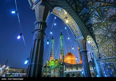 Hazrat Fatima Ma'sumeh Shrine in Iran's Holy City of Qom