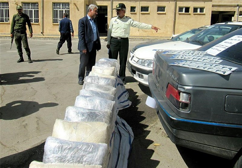550 Tons of Illicit Drugs Seized in Iran in 9 Months: Official