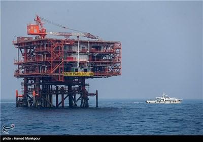 نصب سکوی 18 پارس جنوبی - خلیج فارس
