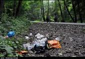 آلودگی محیط زیست در مسیر مسافران تابستانی