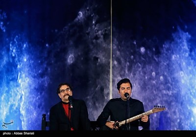 کنسرت شهرام و حافظ ناظری - محوطه باز برج میلاد