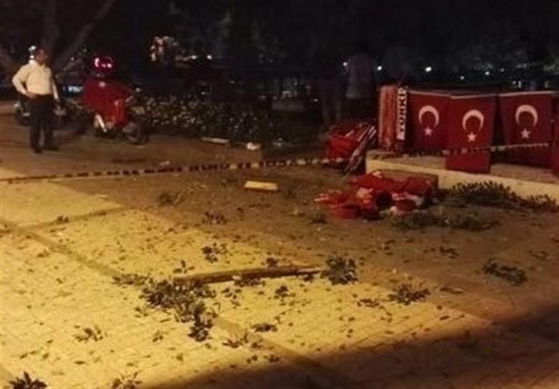 انفجار بمب در آنتالیا+عکس