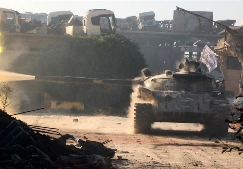 Halep'in Güneyine Çok Sayıda Askeri Silah Gönderildi