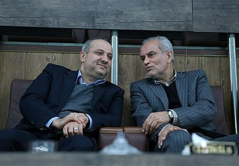 حضور سجادی و هاشمی در سالن ماراکانا + عکس