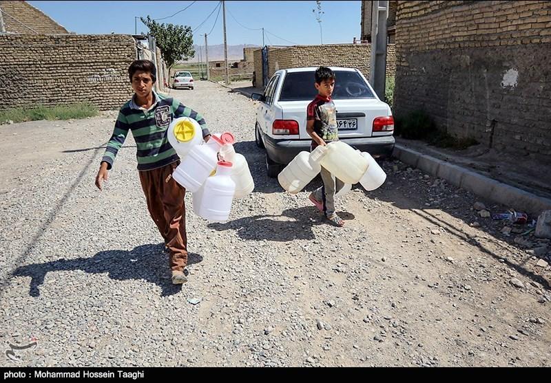 کمبود آب در روستای فیض آباد - 5 کیلومتری مشهد