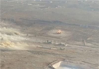 طائرة مسیرة تبید الارهابیین بریف حلب الجنوبی