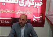 علی اصغر محمودی مدیرکل تامین اجتماعی مازندران