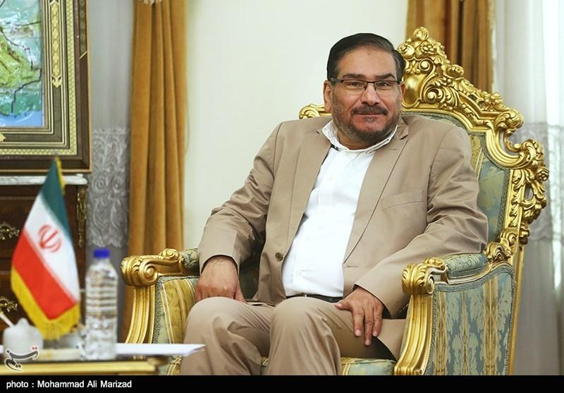 دیدار مشاور امنیت ملی افغانستان با علی شمخانی