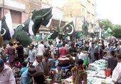پاکستان بھرمیں یوم آزادی ملی جوش و جذبے سے منایا جارہا ہے