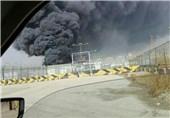 آتش سوزی در بندرامام خاموش شد/پایان سومین حادثه صنایع پتروشیمی در یکماه گذشته