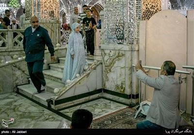 زائران حرم حضرت عبدالعظیم الحسنی(ع)