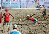 آذربایجان غربی قهرمان مسابقات قهرمانی والیبال ساحلی جوانان ایران شد