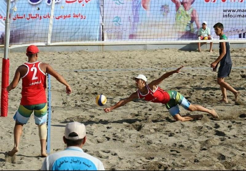 گلستان نائب قهرمان والیبال ساحلی جوانان کشور شد