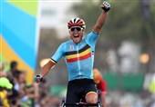 قهرمانی رکابزن بلژیکی در استقامت جاده