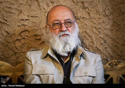 مهدی چمران رئیس شورای شهر تهران در مراسم افتتاح اولین پاتوق خبر