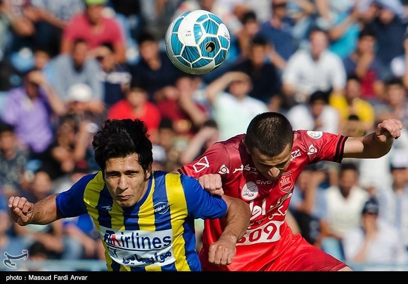 دیدار تیمهای فوتبال گسترش فولاد و پرسپولیس - تبریز