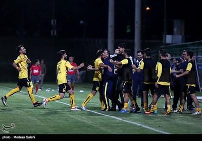 دیدار تیمهای فوتبال سپاهان و استقلال خوزستان - اصفهان