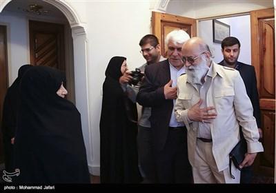 عیادت چمران از مادر شهید شهریاری - زنجان