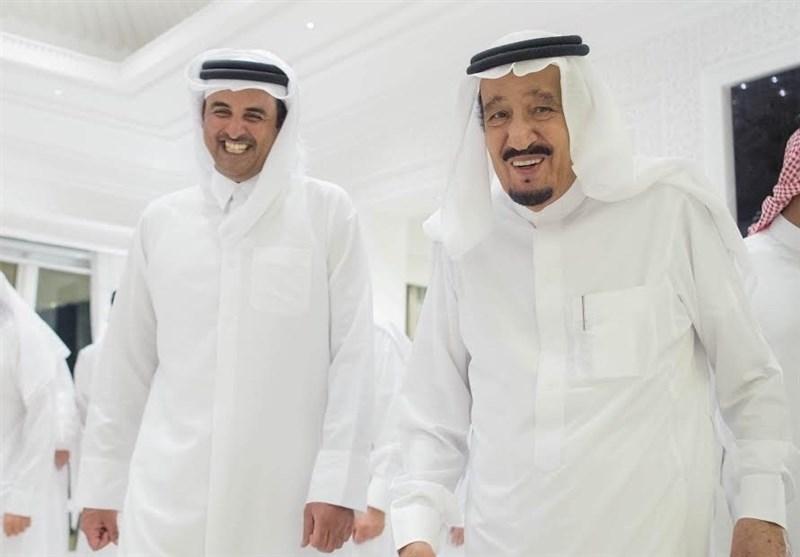 نماهای متفاوت از امیر قطر و شاه عربستان در مغرب+تصاویر