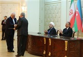 ایران و آذربایجان 6 سند و یادداشت تفاهم همکاری امضاء کردند