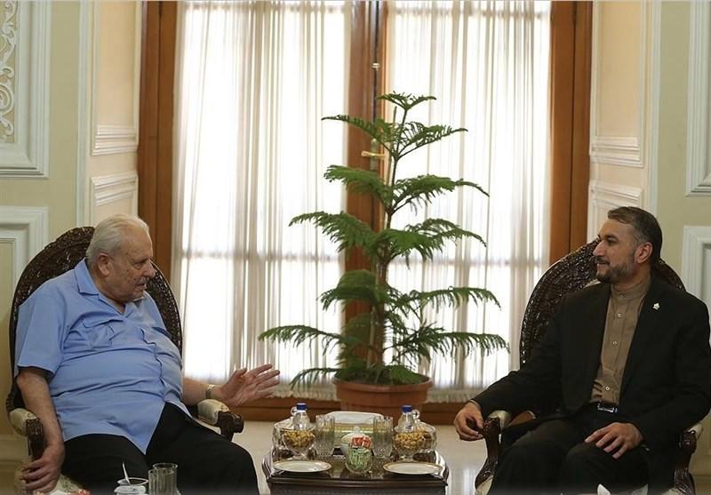 سفیر فلسطین در تهران با امیرعبدالهیان دیدار کرد