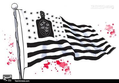 کاریکاتور/ آمریکا تروریست دولتی!!!