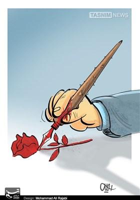 کاریکاتور/ مشق و مشقت خبرنگار