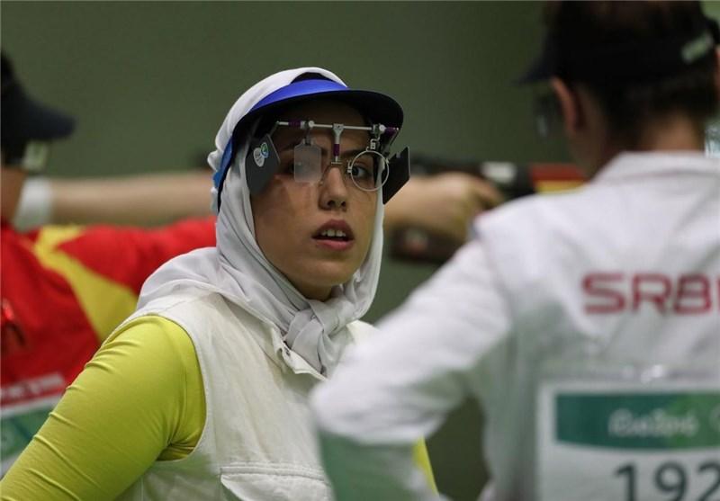 مسابقات جهانی تیراندازی| سبقتالهی در تپانچه ۱۰ متر هشتم شد