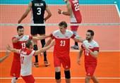 مصاف همگروههای تیم ملی والیبال ایران را لهستان برد
