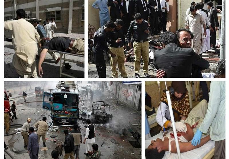 """کوئٹہ دھماکہ؛ شہدا کی تعداد 70 سے تجاوز کرگئی/ حکمرانوں کی روایتی """"مذمت"""" میں شدت"""