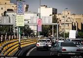 بوی عطر ولادت امام رضا(ع)در سطح شهر تهران