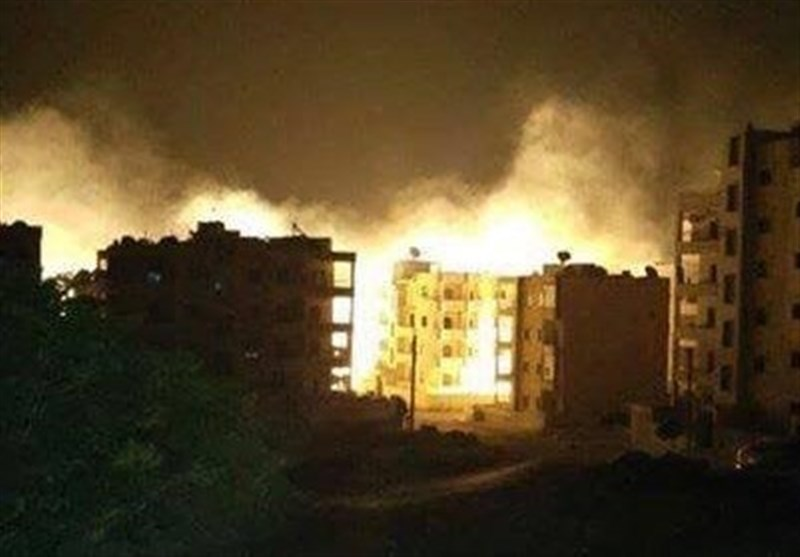 منهدم گروه در تلگرام خبرگزاری تسنیم - حملات سنگین هوایی به شمال ادلب/ شهرک ...