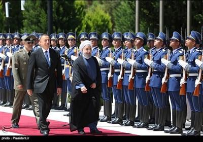 زیارة الرئیس روحانی لجمهوریة اذربیجان
